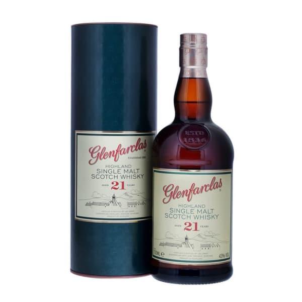 Glenfarclas 21 Years Single Malt Whisky 70cl
