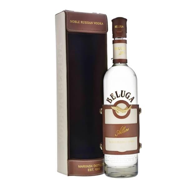Beluga Allure Vodka 70cl mit Lederbox