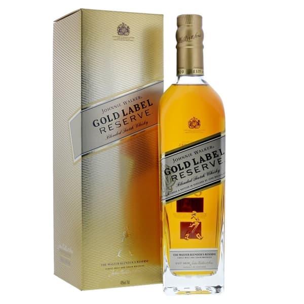 Johnnie Walker Gold Label Reserve Blended Scotch Whisky 70cl