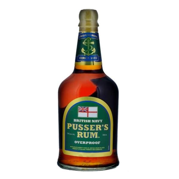 Pusser's British Navy Rum Overproof  70cl