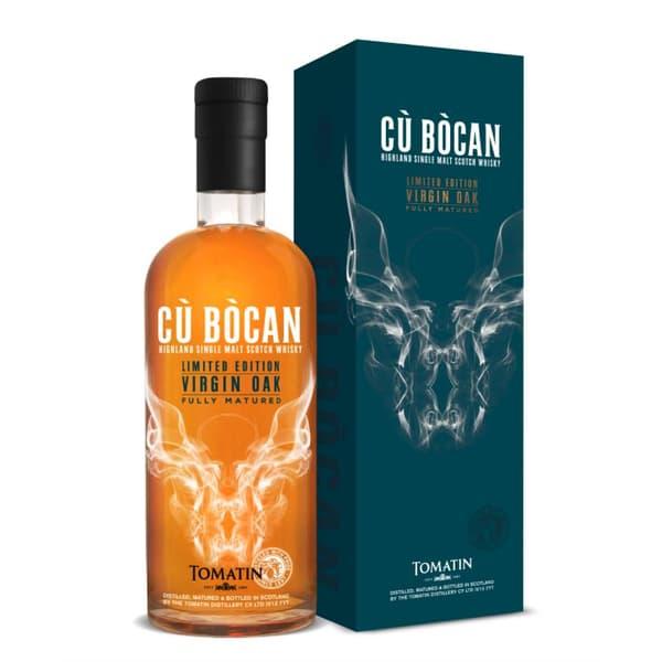 Tomatin Cù Bòcan Virgin Oak Limited Edition Single Malt Whisky 70cl