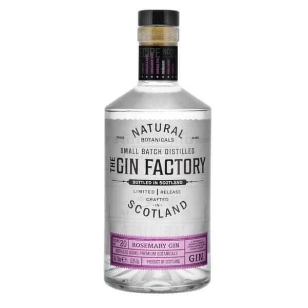 The Gin Factory Limited Release Rosemary Gin 70cl