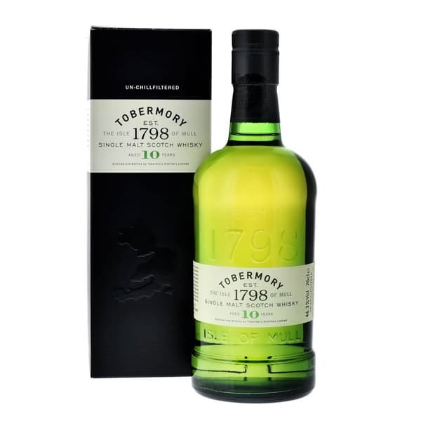 Tobermory 10 Years Single Malt Whisky 70cl