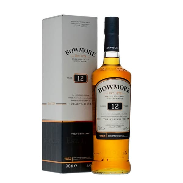 Bowmore 12 Years Single Malt Whisky 70cl