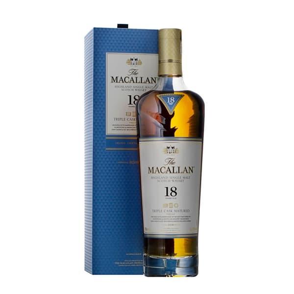 The Macallan 18 Years Triple Cask Single Malt Whisky 70cl