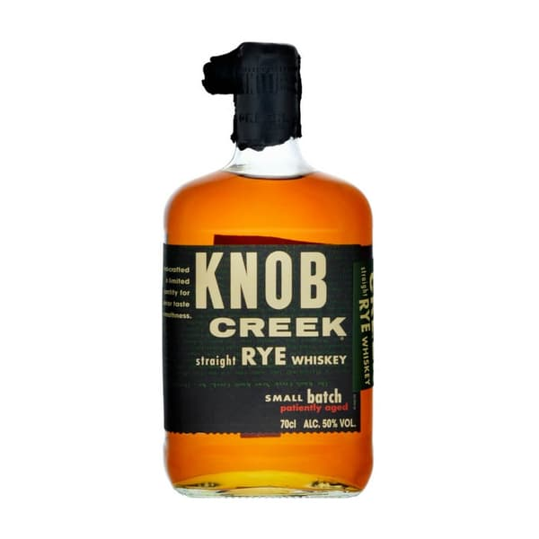 Knob Creek Straight Rye Small Batch Whiskey 70cl