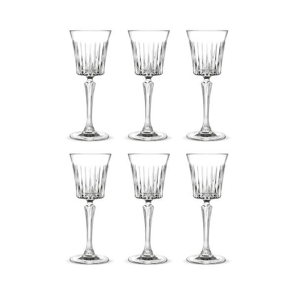 RCR Style Timeless Liqueur Glas 8cl, 6er-Pack