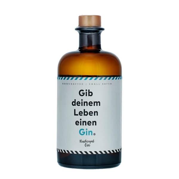 """Flaschenpost Gin """"Gib deinem Leben einen Gin"""" 50cl"""