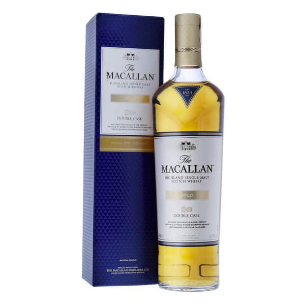 The Macallan Double Cask Gold Whisky 70cl