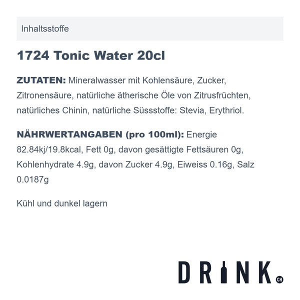 Gin Mare Mediterranean Gin & 1724 Tonic Set Mini