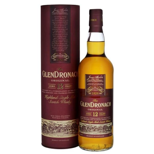 Glendronach 12 Years Single Malt Whisky 70cl