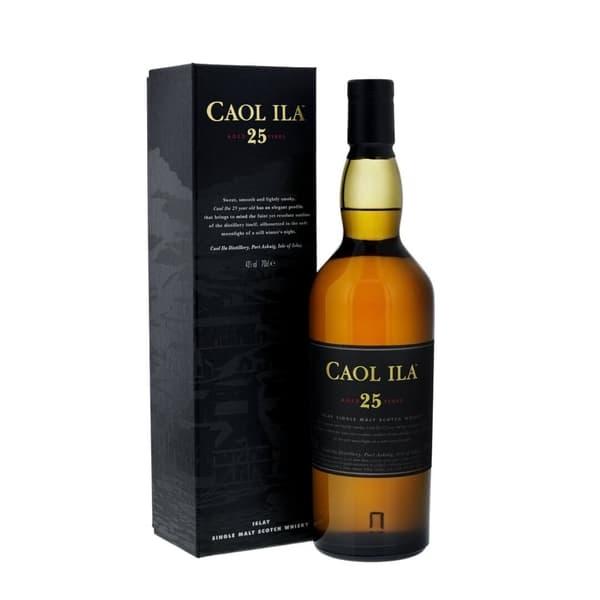 Caol Ila 25 Years Single Malt Scotch Whisky 70cl