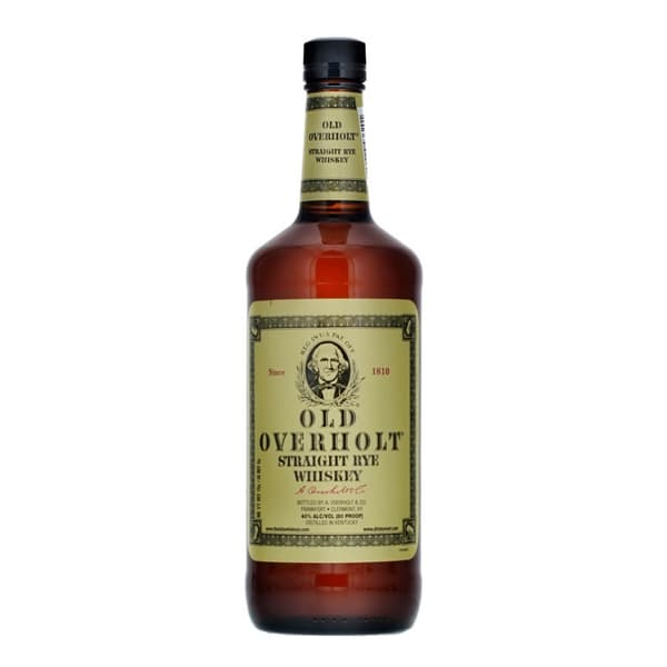 Old Overholt Straight Rye Whiskey 100cl