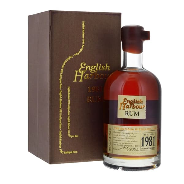 English Harbour 1981 25 Years Rum 70cl