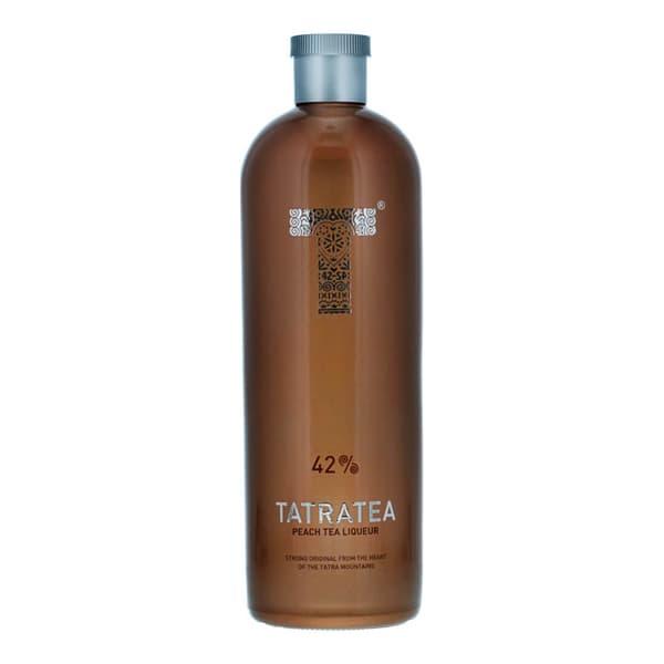 TATRATEA Peach & White Tea Liqueur 70cl