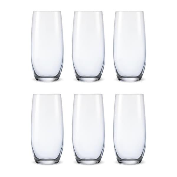 Bohemia Crystal Glass Club Long Drink Glas 35cl, 6er-Set