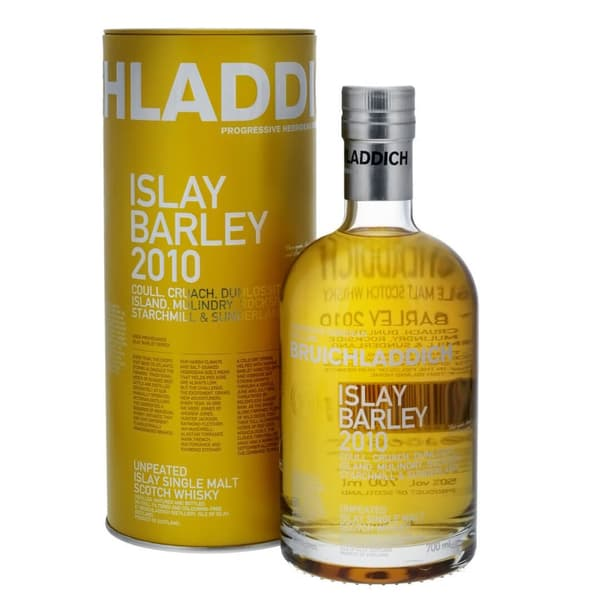 Bruichladdich Islay Barley 2010 Single Malt Whisky 70cl