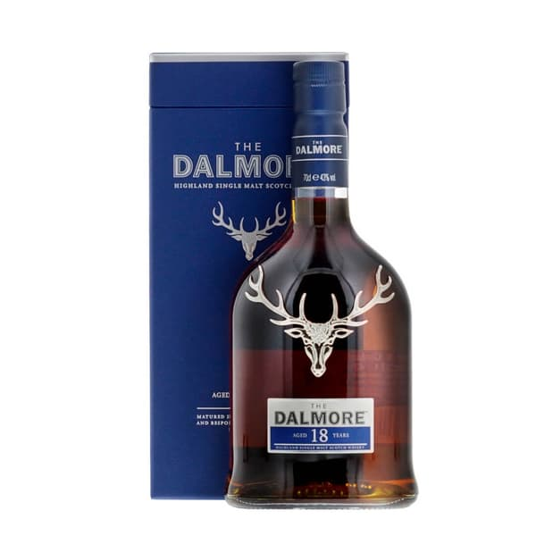 The Dalmore 18 Years Single Malt Whisky 70cl