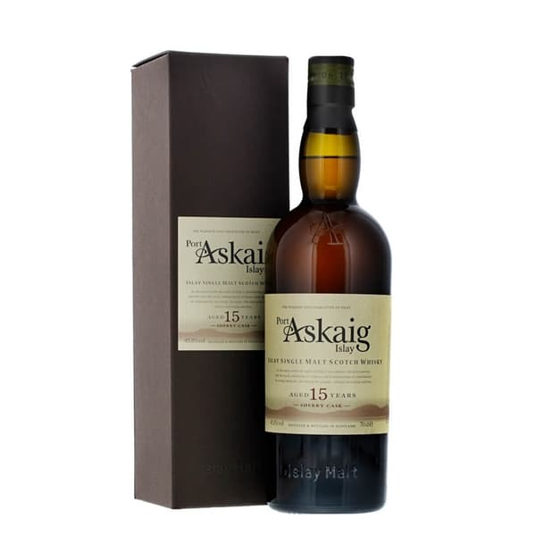Port Askaig 15 Years Sherry Cask Single Malt Whisky 70cl