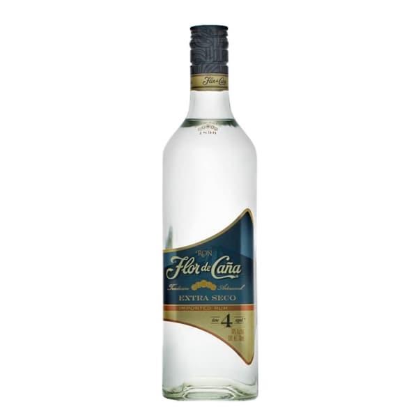 Flor de Caña Rum Extra Dry 4 Years 70cl