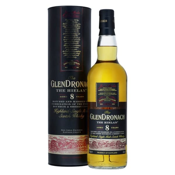 Glendronach 8 Years The Hielan' 70cl