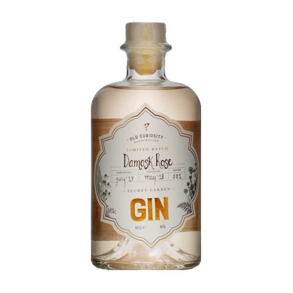 Old Curiosity Damask Rose Limited Batch Gin 50cl
