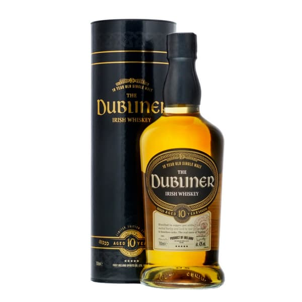 The Dubliner 10 Years Whiskey 70cl