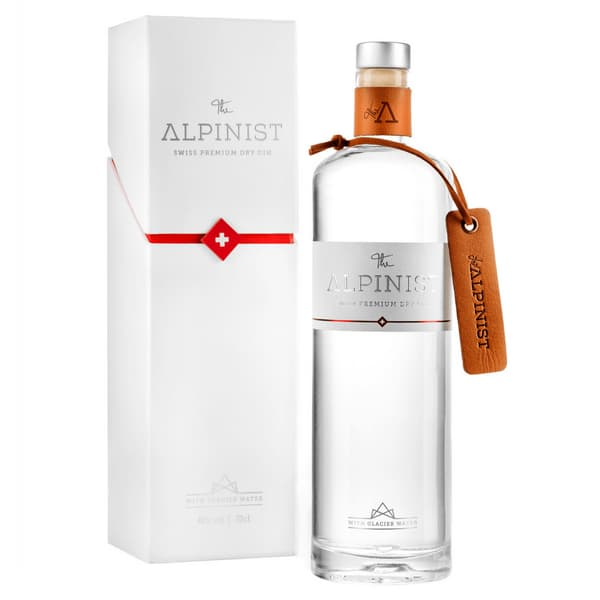 The Alpinist Dry Gin mit Verpackung 70cl