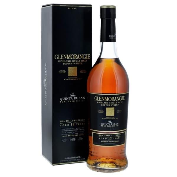 Glenmorangie Quinta Ruban 12 Years Single Malt Whisky 70cl