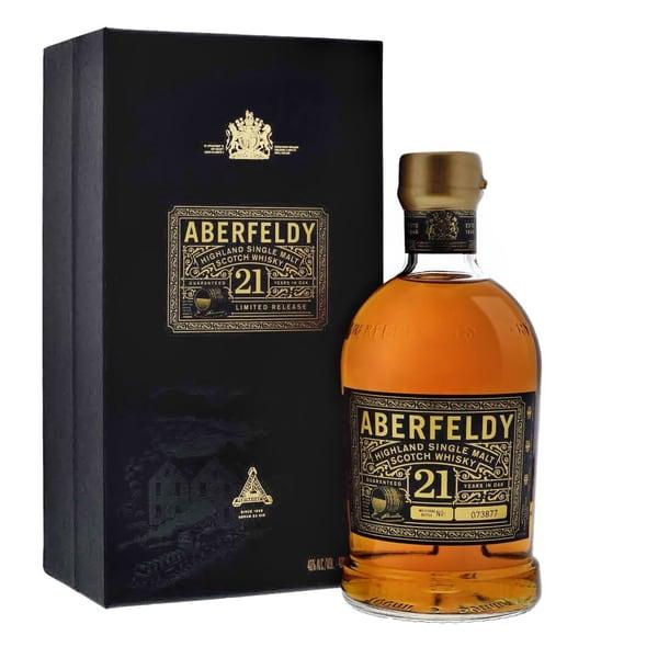 Aberfeldy 21 Years Single Malt Whisky 70cl