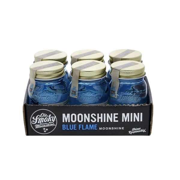 Ole Smoky Blue Flame Whisky 5cl, 6er-Pack