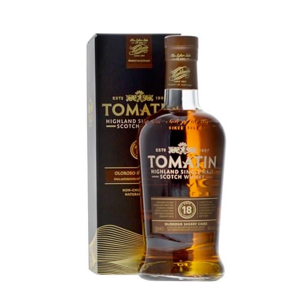 Tomatin 18 Years Sherry Cask Single Malt Whisky 70cl