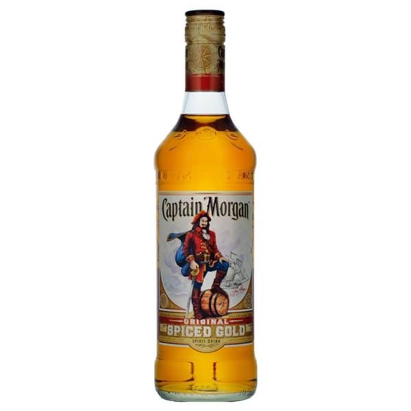 Captain Morgan Spiced Gold 70cl (Spirituose auf Rum-Basis)