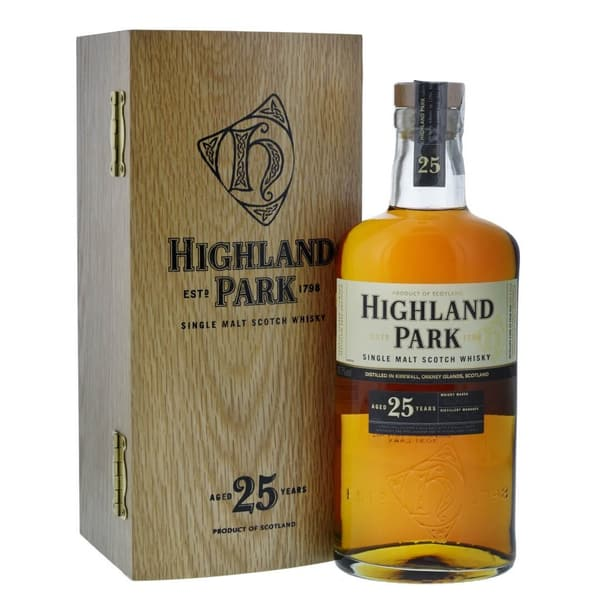 Highland Park 25 Years Whisky 70cl