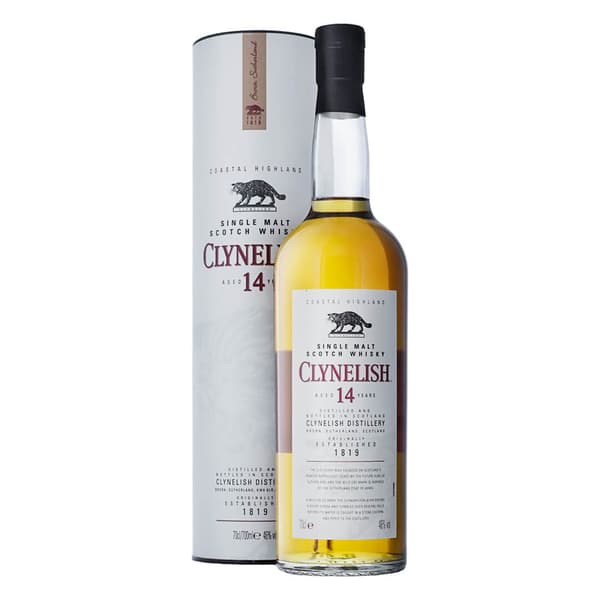 Clynelish 14 Years Single Malt Whisky 70cl