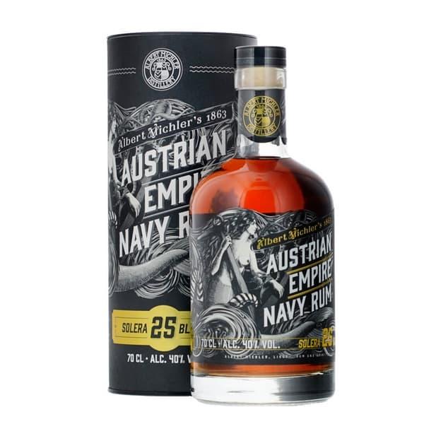 Austrian Empire Navy Rum Solera 25 Jahre