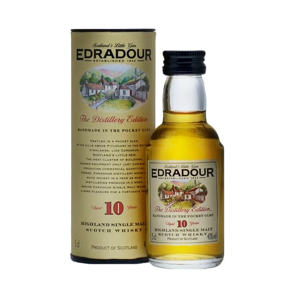 Edradour 10 Years Whisky 5cl
