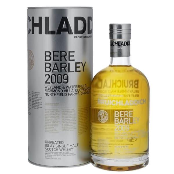 Bruichladdich Bere Barley 2009 Malt Whisky 70cl