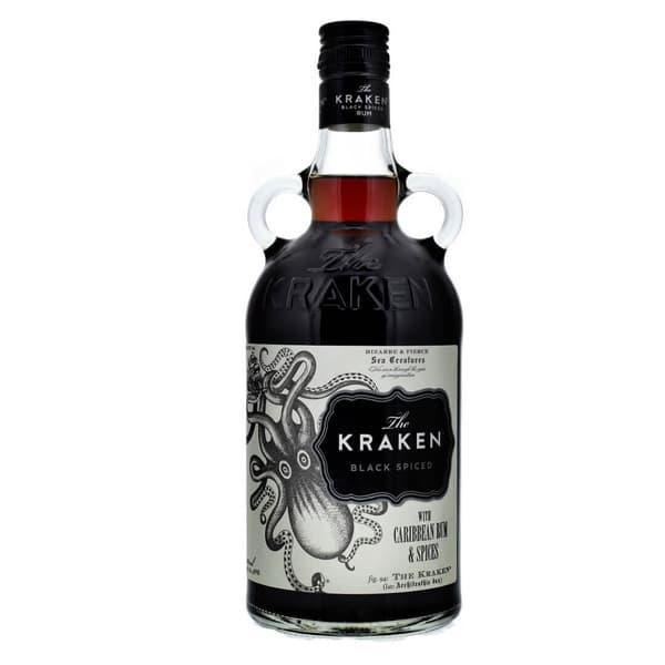 Kraken Black Spiced 70cl (Spirituose auf Rum-Basis)