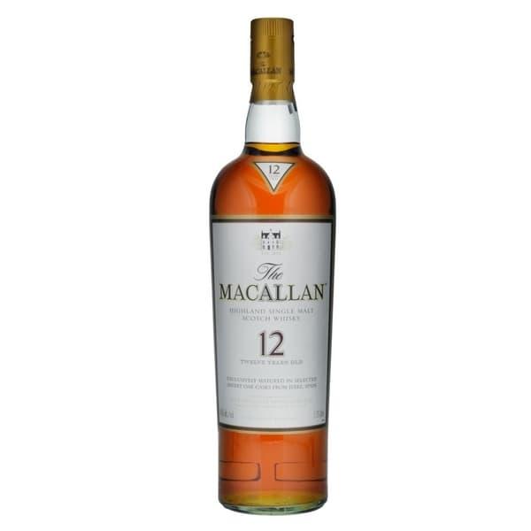 Macallan Sherry Oak 12 Years Single Malt Whisky 175cl