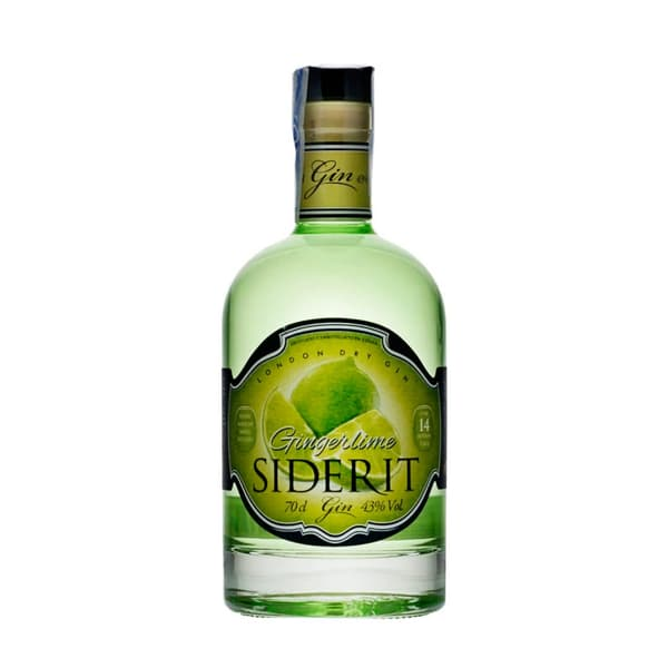 Siderit Ginger Lime Gin 70cl