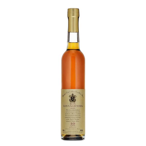 Ron Los Valientes 10 Años Rum 50cl