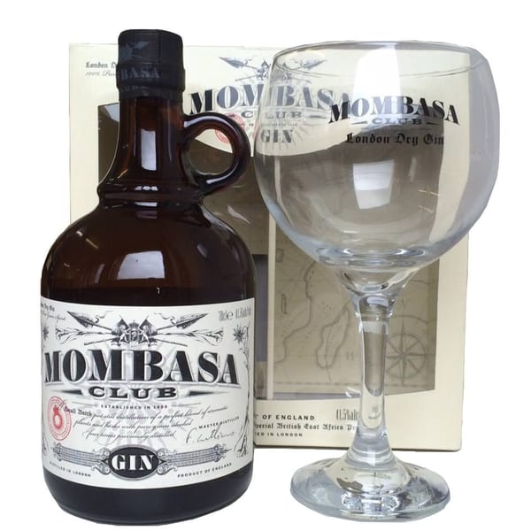 Mombasa Club Gin Set mit Glas