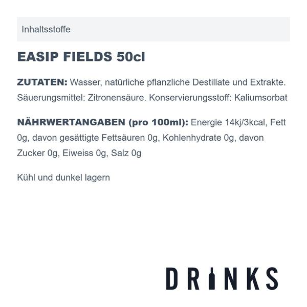 EASIP FIELDS 50cl