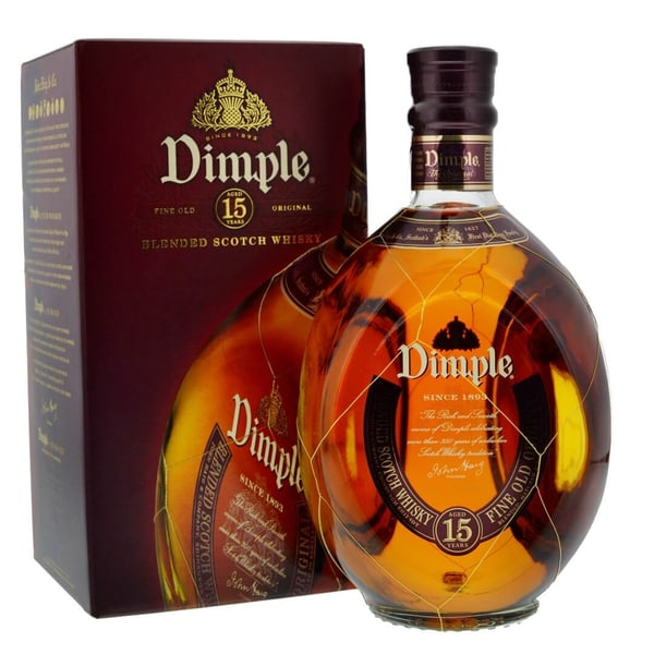 Dimple 15 Years Blended Scotch Whisky 70cl