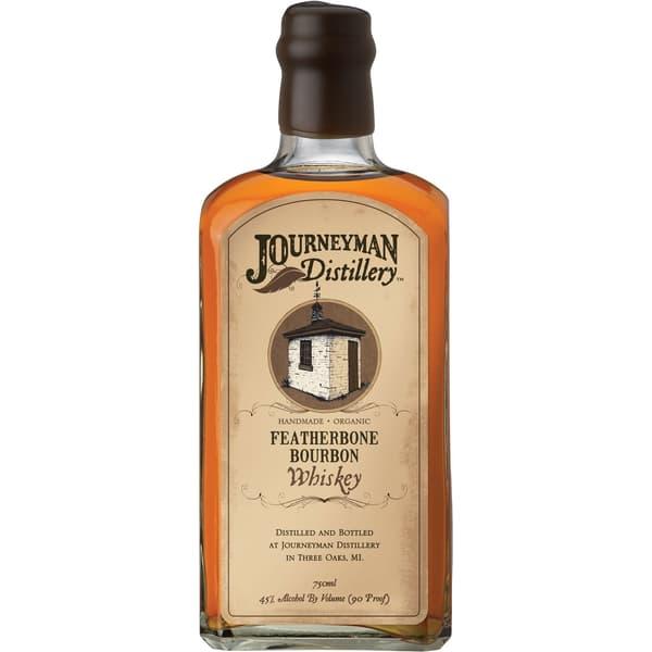 Journeyman Featherbone Small Batch Bourbon Whiskey 75cl