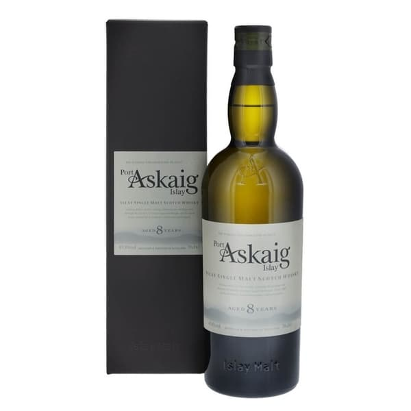 Port Askaig 8 Years Old Single Malt Whisky 70cl