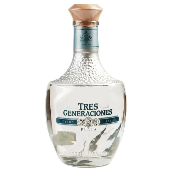Sauza Tres Generaciones Plata Tequila 100% Agave 70cl