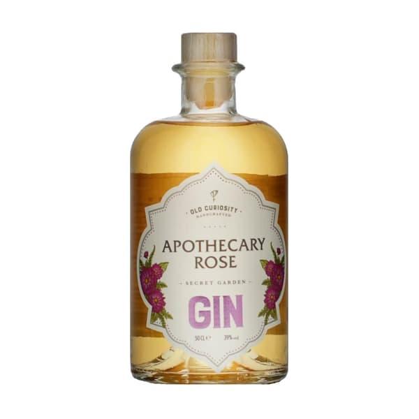 Old Curiosity Secret Garden Gin Apothecary Rose 50cl
