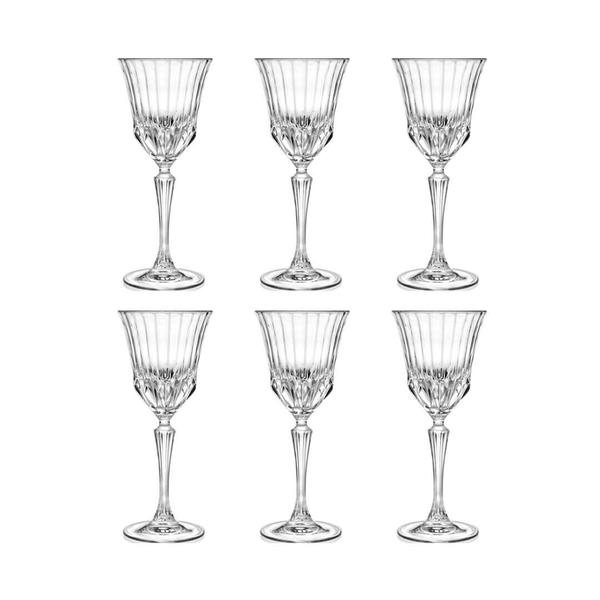 RCR Style Adagio Rotweinglas, 6er-Pack